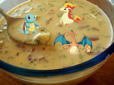 poke soup