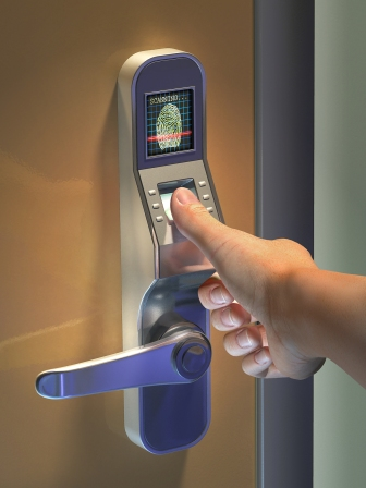 fingerprint-door-access-control