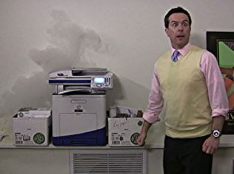 Office-smoking-printer